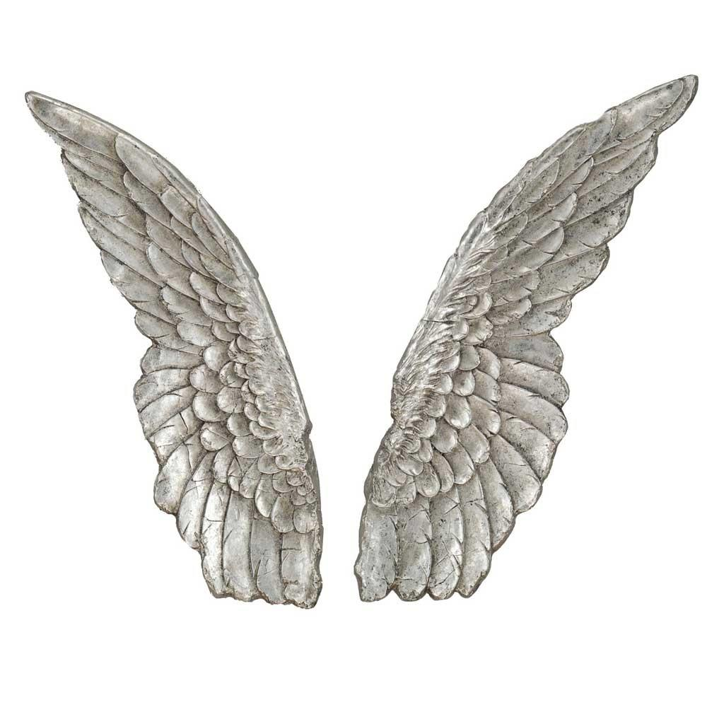 Paragon angel wings wall d cor set of 2 from wayfair home for Angel wings wall decoration