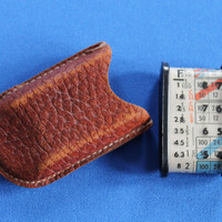 Leudi II Mimosa American Corp 1941 Extinction Meter with Leather Case