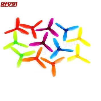"20pcs/lot Original DYS 5"" 5045 BN504503 Bullnose Tri-Blade Propellers Props CW/CCW For FPV QAV210 Drone (10 pair)"