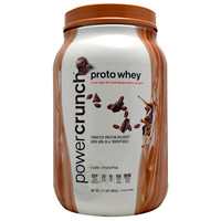 PowerCrunch Proto Whey Cafe Mocha 2 lbs (910 g)