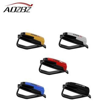 Auto Fastener Cip Auto Accessories Car Vehicle Sun Visor Sunglasses Eyeglasses Glasses Ticket Holder Clip Color Random