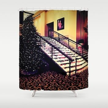 Holiday decor Shower Curtain by Jessica Ivy
