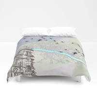 The redemption of memory Duvet Cover by anipani