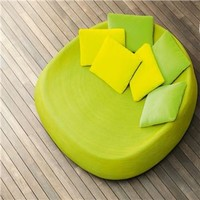Paola Lenti Afra Large Seat - Style # B38B, Modern Armchairs | Contemporary Arm Chairs | SwitchModern