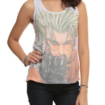 Trigun Vash The Stampede Sublimation Girls Tank Top