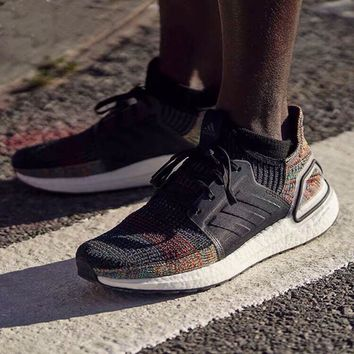 """Adidas UB5.0 Ultra Boost 5.0""""Rainbow""""B37706 Men Fashion Boots fashionable Casual leather Breathable Sneakers Running Shoes Sneakers"""