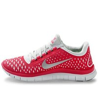 Nike Lady Free 3.0 V4 Running Shoes - 9.5 - Pink: Shoes