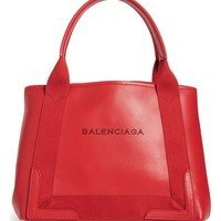 Balenciaga Small Cabas Leather Tote | Nordstrom
