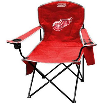 Detroit Red Wings NHL Cooler Quad Tailgate Chair