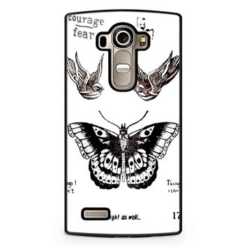 Tattoo Harry Style One Direction LG G4 Case