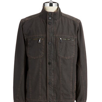 Tommy Bahama Denim Moto Jacket