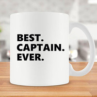Captain Gift Ideas For Men Boating Mug Best Coffee Cup Boat Captain Nautical Mug Boat Mug Sailor Mug Best Captain Ever Ceramic Mug - SA714