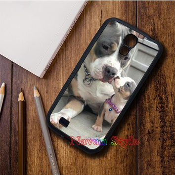Cute and Lovely Pitbull  phone case cover for Samsung Galaxy S3 thru Note 5