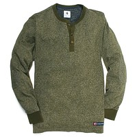 Hunter Henley in Duck Green by Southern Proper - FINAL SALE