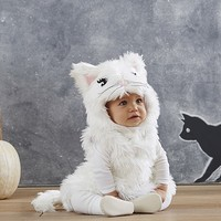 Baby White Kitty Costume | Pottery Barn Kids