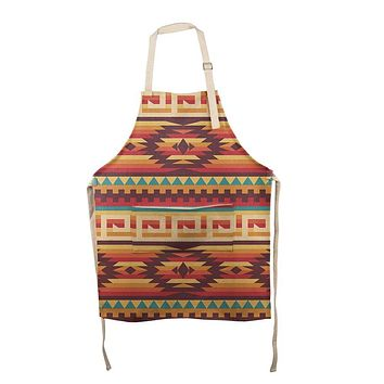 Native American Pattern All Over Apron