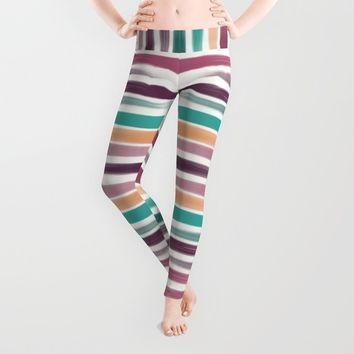 Brush strokes Leggings by EDrawings38