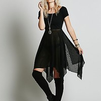 Free People Womens Jete Dress - Black