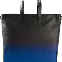 Fendi gradient monogram tote