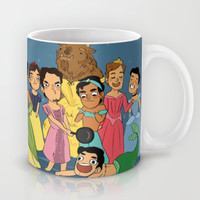 babes Mug by Little People | Society6