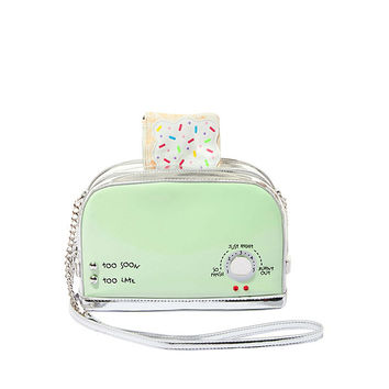 KITSCH A TOAST TO YOU CROSSBODY: Betsey Johnson