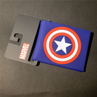 Marvel Comics Captain America Shield Logo Wallet