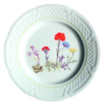 Louis Lourioux Wild Flower Salad Plate