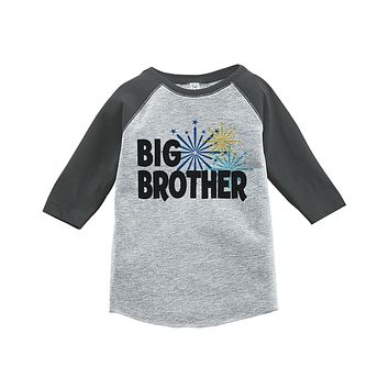 Custom Party Shop Kids Big Brother Happy New Year Raglan Shirt