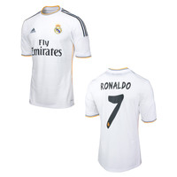 Ronaldo Jersey Real Madrid Home 2013 2014