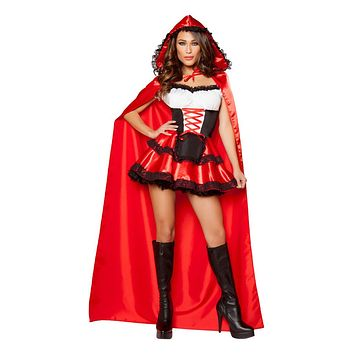 Sexy Women's Red Riding Hood Halloween Costume