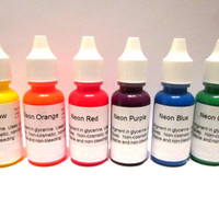 New MYO 6 Soap Colorant Dye Neon Colors Liquid Dyes Melt & Pour Make Your Soap