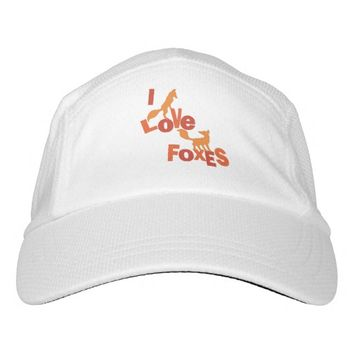 I Love Foxes Headsweats Hat
