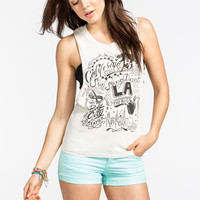Element Roadbound Womens Muscle Tank Natural  In Sizes