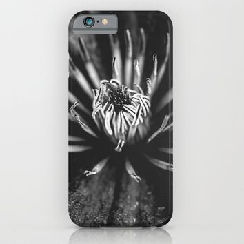 Flower universe - BW iPhone & iPod Case by HappyMelvin Protanopia