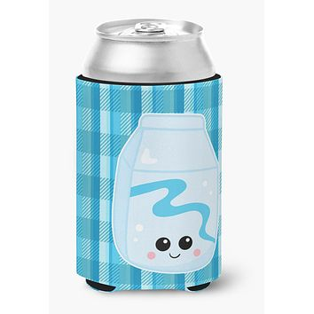 Blue Plaid and Milk Can or Bottle Hugger BB6846CC