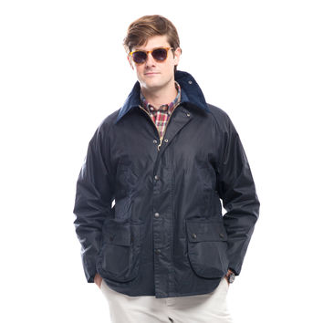 Barbour® Men's Navy Bedale Jacket