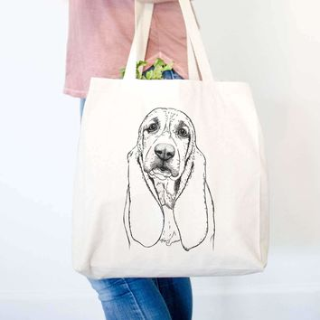 Rolo the Basset Hound - Tote Bag