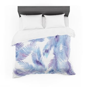 "Draper ""Tropic Breeze"" Blue Digital Featherweight Duvet Cover"