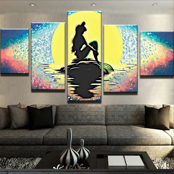 The Mermaid Canvas Set