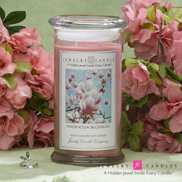 Magnolia Blossom Jewelry Candle