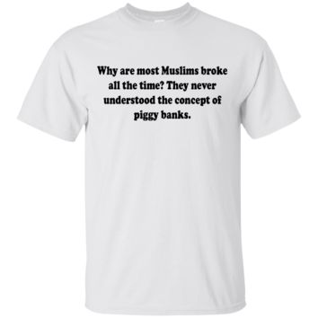 Why are most Muslims broke all the time? They never understood the concept of piggy banks