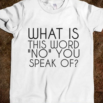 What Is This Word No You Speak Children's T-Shirt