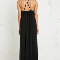 Silence + Noise Tri-Strap Maxi Dress in Black - Urban Outfitters