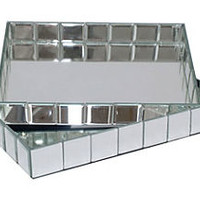 Mirrored Trays, Asst. of 2