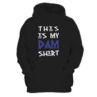 Camp Half-Blood This Is My Dam Percy Jackson Hoover Dam Titan's Curse Inspired Man's Hoodie