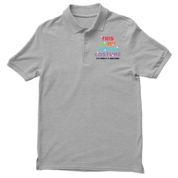 This Is My Human Costume I'm Really A Unicorn Polo Shirt