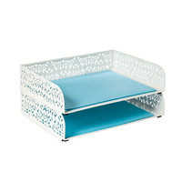 The Container Store > Brocade Stackable Letter Tray