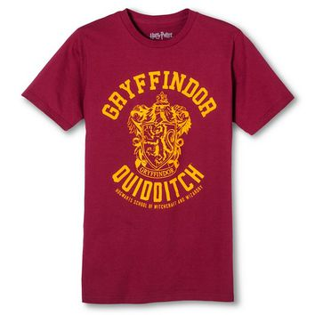 Men's Harry Potter® Gryffindor Quidditch Team T-Shirt - Burgundy
