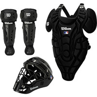 WILSON Youth EZ Gear Baseball Catcher's Kit