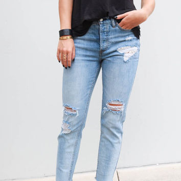 Free People Lacey Stilt Jeans